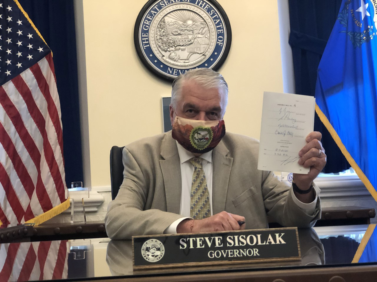Governor Sisolak signing AB4 (1)