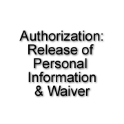 Authorization: Release Personal Information