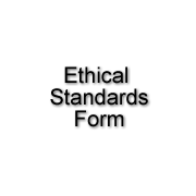 Ethical Standards Form
