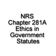 NRS Chapter 281A: Ethics in Government Statutes