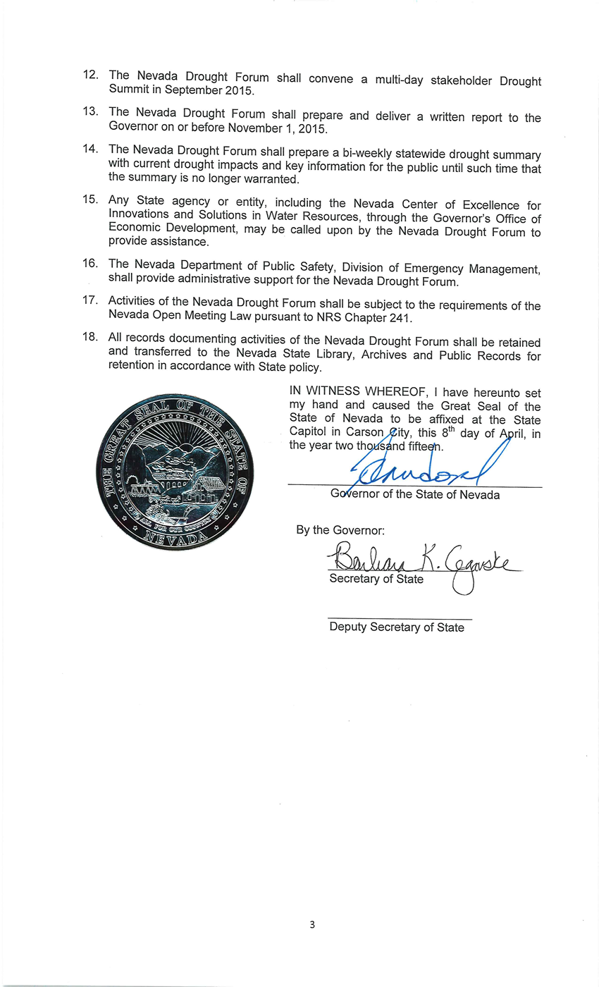Executive Order 2015-03 Page 3a