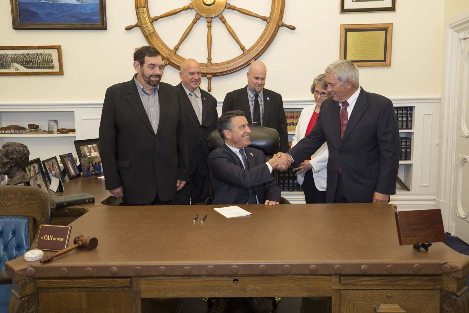 Senate Bill 451 Signing Photo 2