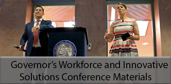 Governor's Workforce and Innovative Solutions Conference Materials